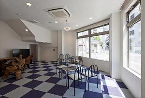 イーグルゴルフ今福校(今福阪奈ゴルフガーデン)のロビーの写真