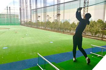 大阪のゴルフスクール「イーグルゴルフ」のプライベートレッスン・マンツーマンレッスンのイメージ