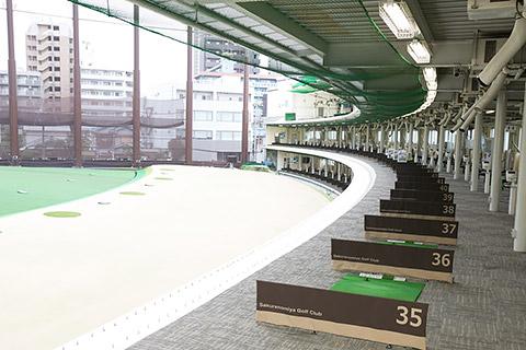 イーグルゴルフ桜宮校(桜宮ゴルフクラブ)の練習場の写真