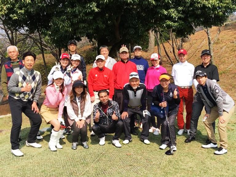 イーグルゴルフコンペの写真
